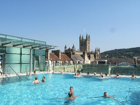 Thermae Bath Spa: Worth it for the view