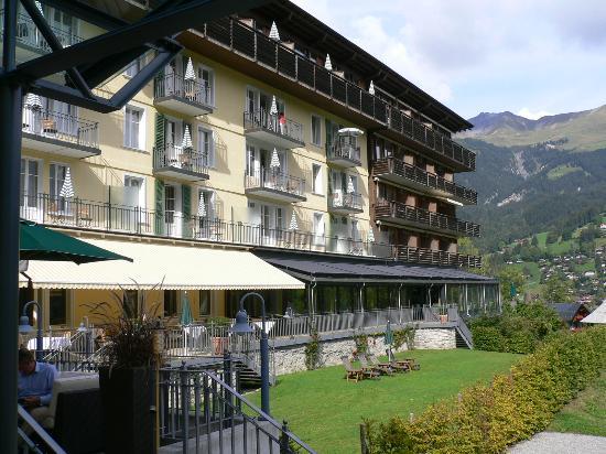 Lenkerhof gourmet spa resort : rooms from outside