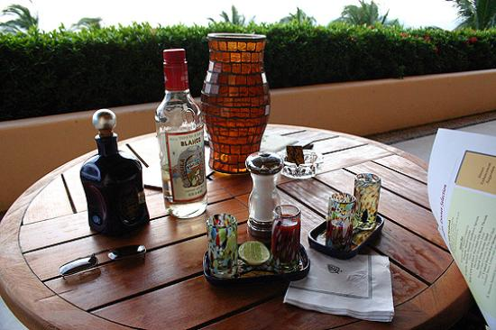 Four Seasons Resort Punta Mita: Our sunset Tequila tastings