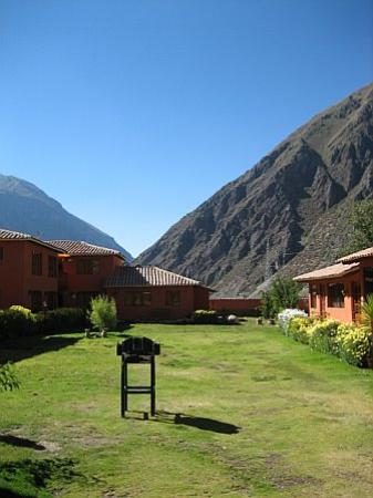 Ollantaytambo Lodge : Central patio