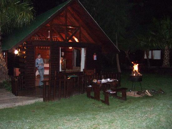 Tsitsikamma Lodge: Barbeque at the cottage