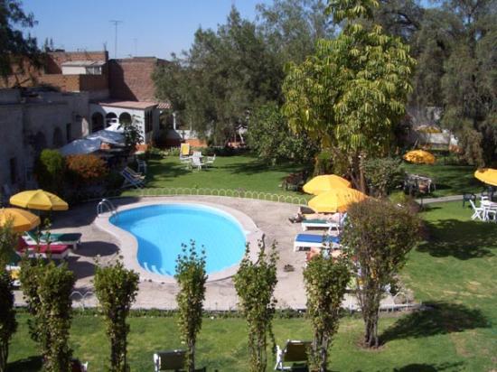 Hotel La Casa de mi Abuela: Pool area