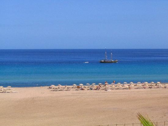 Iberostar Fuerteventura Palace: View from our room (2nd floor)