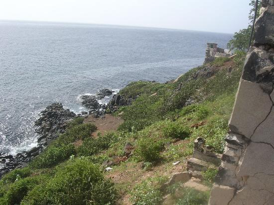 Goree Island, เซเนกัล: View on the far side of the island