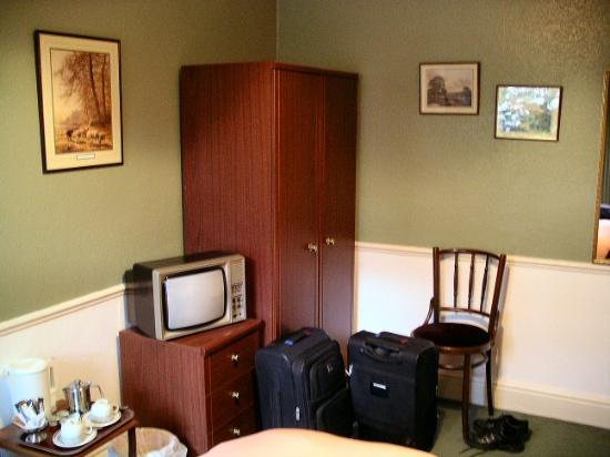 Lydford, UK: Room at the Dartmoor Inn, Devon.