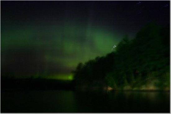 Silver Rapids Lodge : Northern Lights at Silver Rapids!