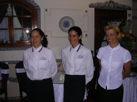 Quinta da Casa Branca: Staff at Casa Portuguesa