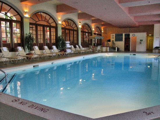 Beautiful Indoor Swiming Pool Picture Of Embassy Suites