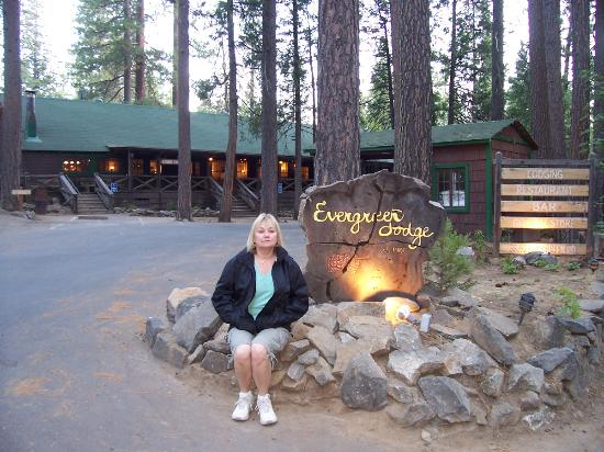 Evergreen Lodge at Yosemite : Out front