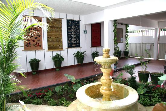 Oaxaca Ollin: Courtyard
