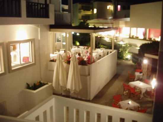 Ammos Hotel: Ammos restaurant