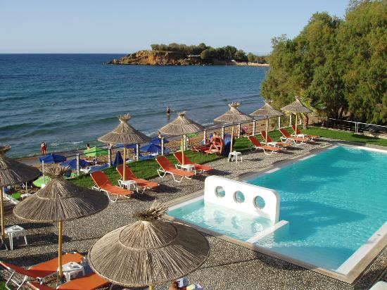 Ammos Hotel: View from room