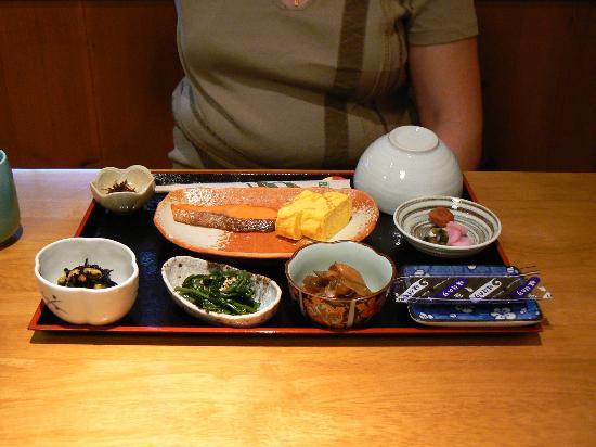 Ryokan Shimizu: Breakfast