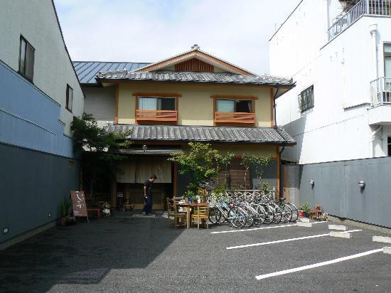 Ryokan Shimizu: Outside view