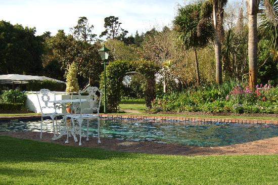 The St. James of Knysna: The Pool and the Garden