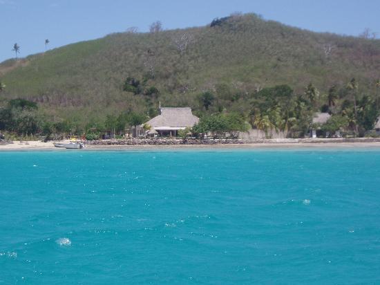 Navutu Stars Fiji Hotel & Resort: Leaving Navutu by boat