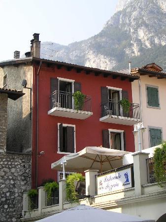 Albergo Ristorante Ancora: Rear exterior from Viale Dante