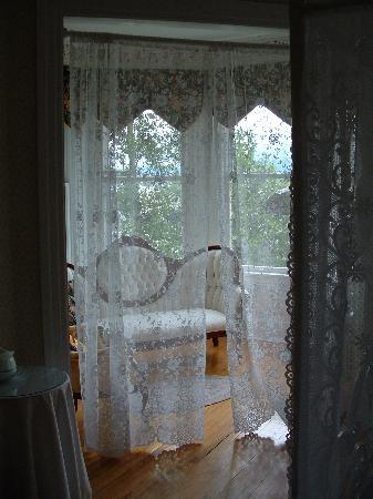 Grandview Bed and Breakfast: Sitting room of Gazebo Room
