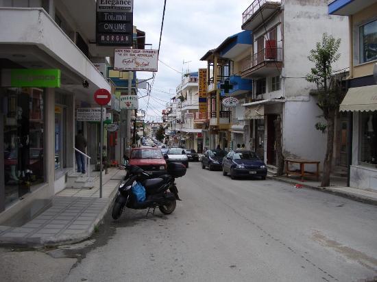 Ikos Oceania: Nea Moudania town