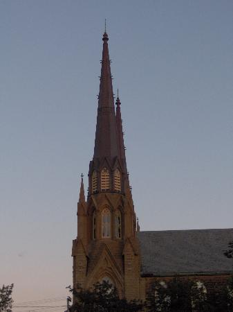 Fitzroy Hall: Steeple, Charlottown