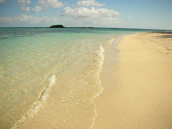 Club Med La Pointe aux Canonniers: la spiaggia