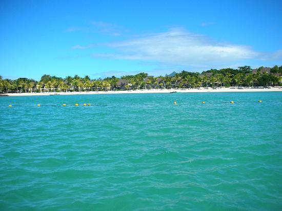 Club Med La Pointe aux Canonniers : veduta dalla barca