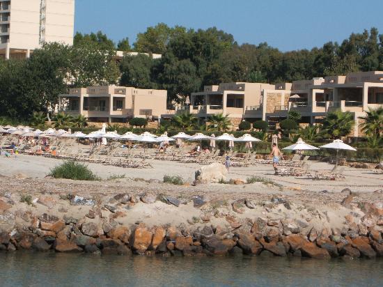 Sani Asterias : beach front villas