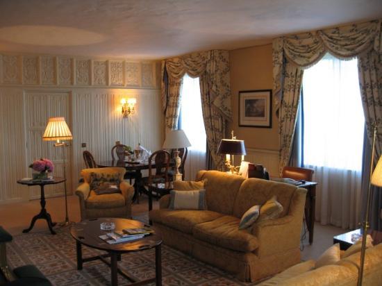 The Dorchester: Dorchester Suite - Séjour