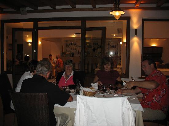 Yiannaki Hotel: dinner