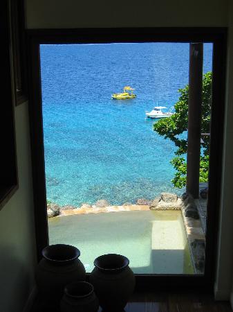 Royal Davui Island Resort: On entering the Villa
