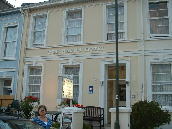 Haven House: Haven Hotel, Sept 2006 (and me!)