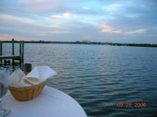 Ophelia's on the Bay : View from our table