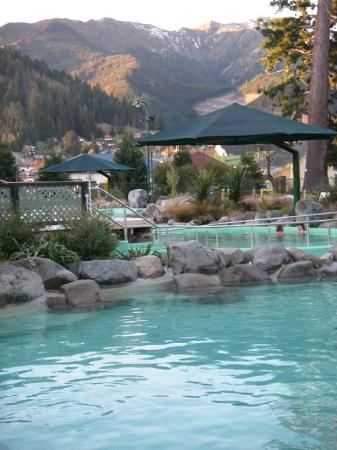 Hanmer Springs, New Zealand: great views, great pools