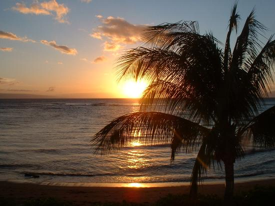 Kahana Village: Sunset