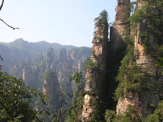 Zhangjiajie, Chine : Wulingyuan 1