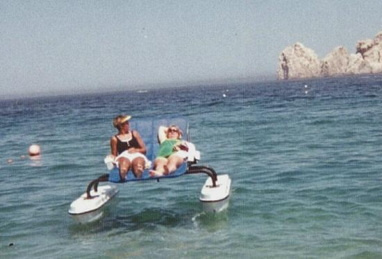 Genial Cabo San Lucas, Mexico: On Our Motorized Lounge Chair, We Became Surrounded  By