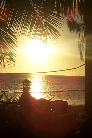 Malolo Island Resort: Sunset on Malolo