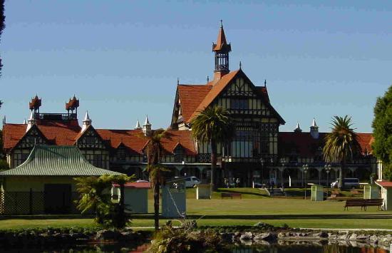 Роторуа, Новая Зеландия: Rotorua Museum, Government Gardens
