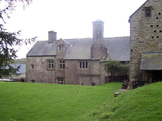 Cowbridge, UK: Rear of house