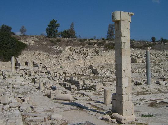 Amathus Beach Hotel Limassol: The nearby Ruins