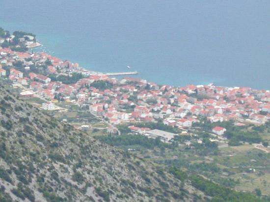 Villa Giardino: View of Bol from Vidova Gora mountain