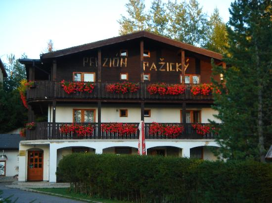 Pension Pazicky: Front of the Pension