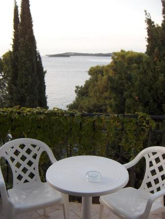 Island Hotel Katarina: The room terrace