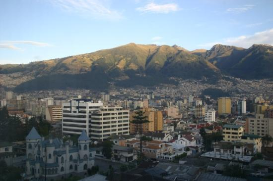 Swissotel Quito: View from our room