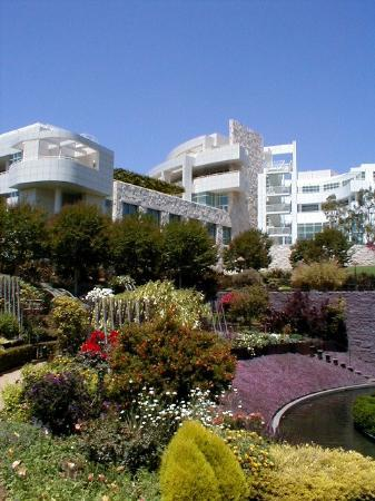 Los Angeles, Californie : Getty Center Gardens