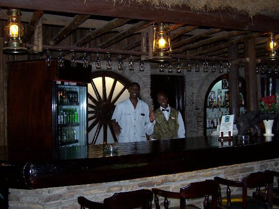 "Fairmont Mara Safari Club: ""How about a beverage before the safari?"""