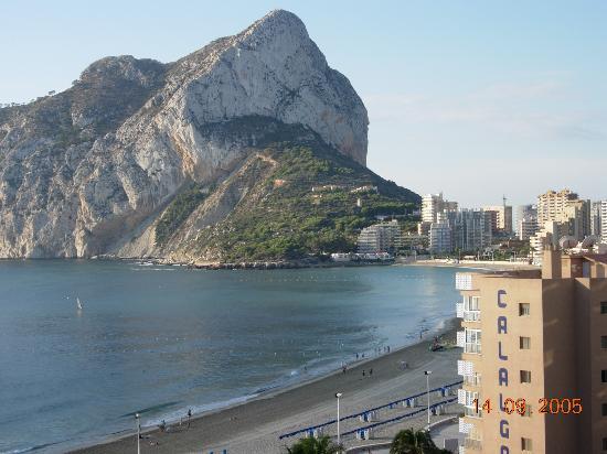 AR Roca Esmeralda & SPA Hotel: View from the balcony
