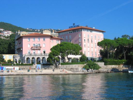 Hotel Milenij: Hotel Millennium from the Water