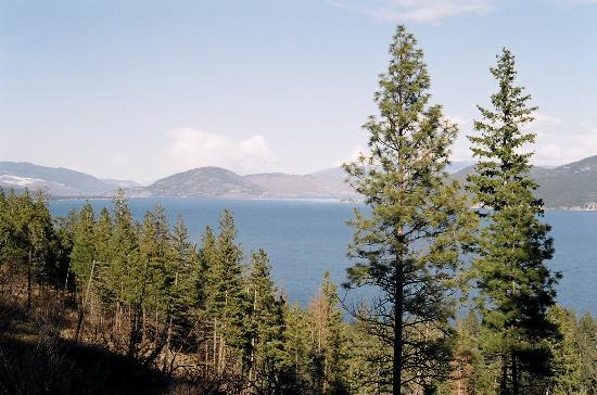 Κελόουνα, Καναδάς: Lake Okanagan