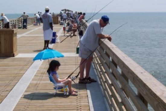 Fishing on the pier picture of jacksonville beach for Jacksonville fishing pier